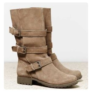 American Eagle suede slouchy boots. 7.5